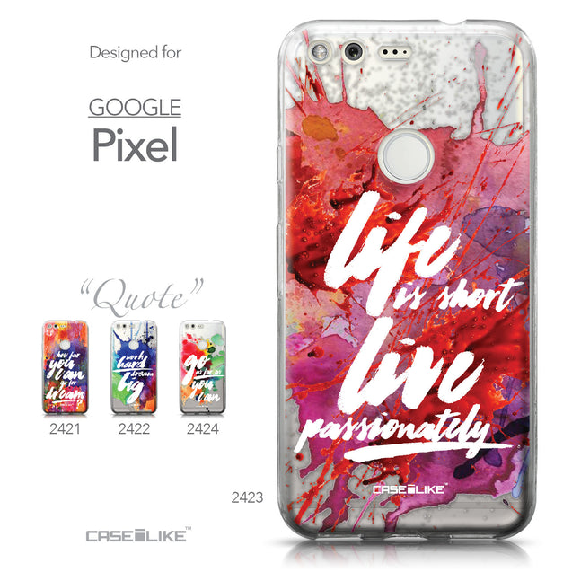 Google Pixel case Quote 2423 Collection | CASEiLIKE.com