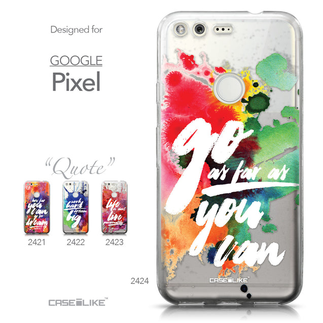 Google Pixel case Quote 2424 Collection | CASEiLIKE.com