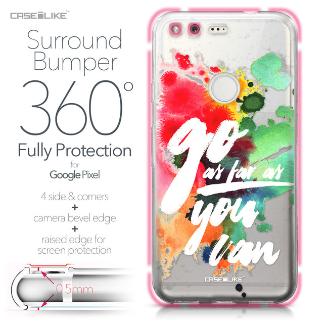 Google Pixel case Quote 2424 Bumper Case Protection | CASEiLIKE.com
