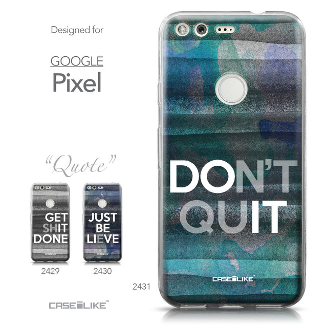 Google Pixel case Quote 2431 Collection | CASEiLIKE.com