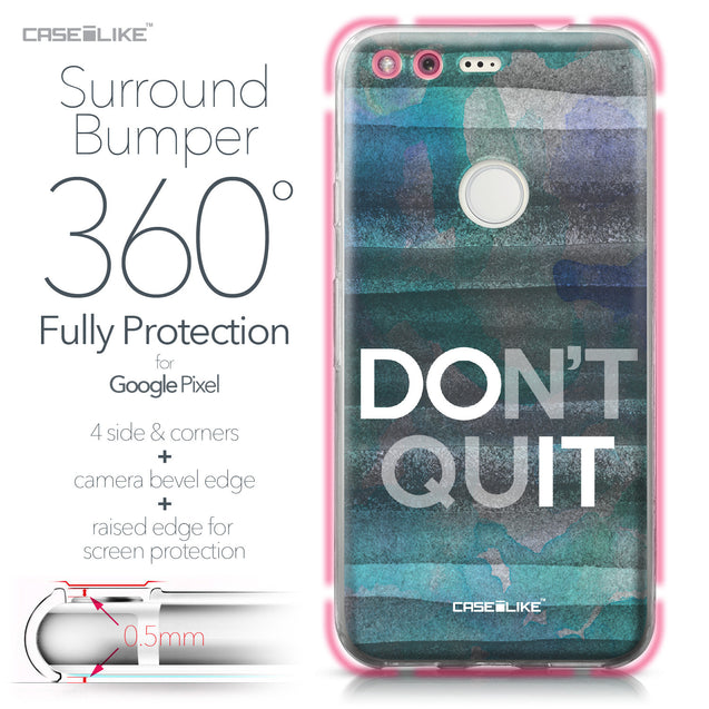Google Pixel case Quote 2431 Bumper Case Protection | CASEiLIKE.com