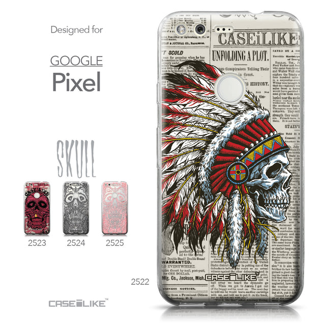 Google Pixel case Art of Skull 2522 Collection | CASEiLIKE.com