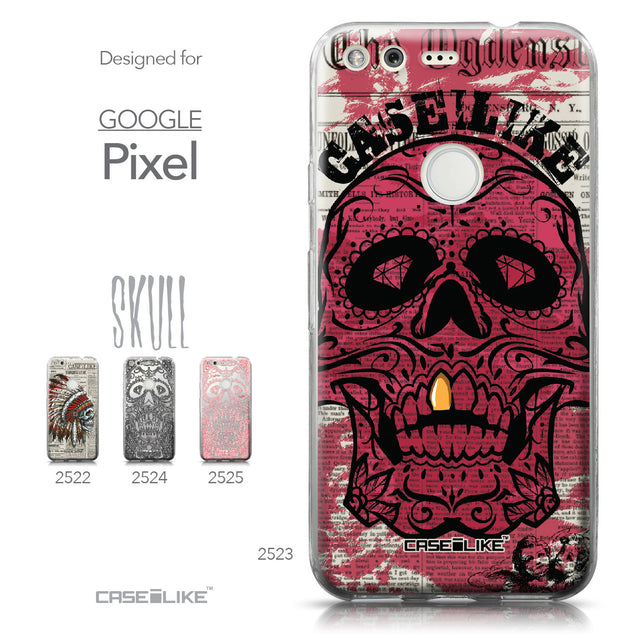Google Pixel case Art of Skull 2523 Collection | CASEiLIKE.com
