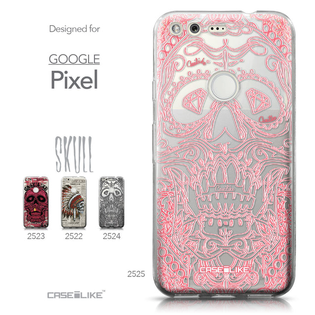 Google Pixel case Art of Skull 2525 Collection | CASEiLIKE.com