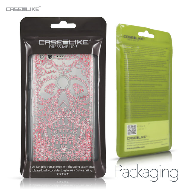 Google Pixel case Art of Skull 2525 Retail Packaging | CASEiLIKE.com