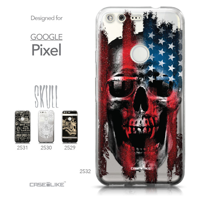 Google Pixel case Art of Skull 2532 Collection | CASEiLIKE.com