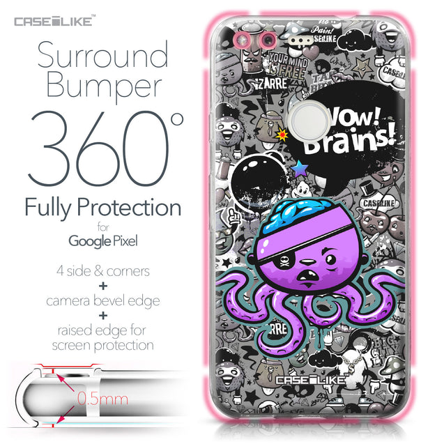 Google Pixel case Graffiti 2707 Bumper Case Protection | CASEiLIKE.com