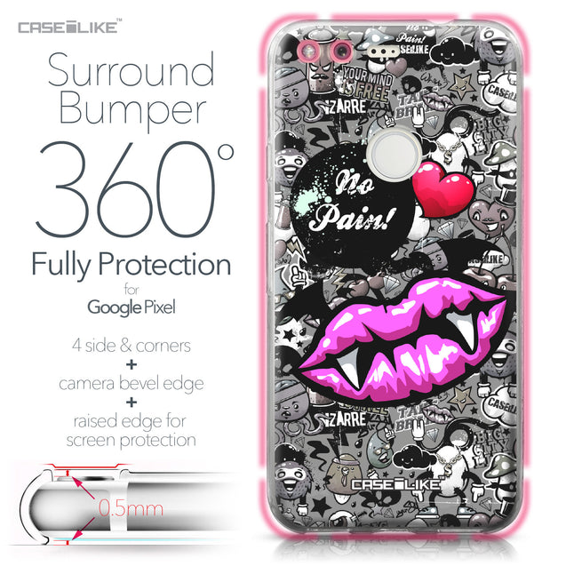 Google Pixel case Graffiti 2708 Bumper Case Protection | CASEiLIKE.com