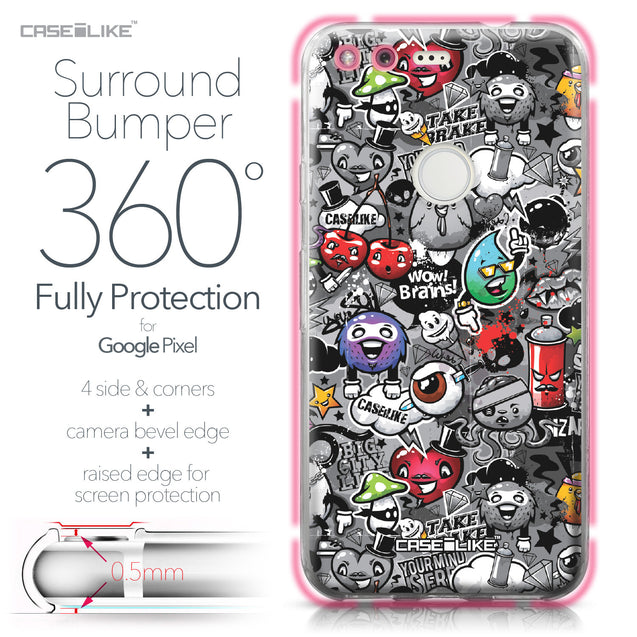 Google Pixel case Graffiti 2709 Bumper Case Protection | CASEiLIKE.com