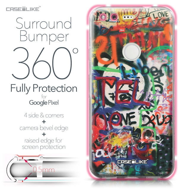 Google Pixel case Graffiti 2721 Bumper Case Protection | CASEiLIKE.com