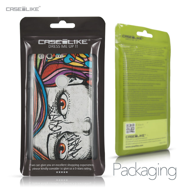 Google Pixel case Graffiti Girl 2725 Retail Packaging | CASEiLIKE.com