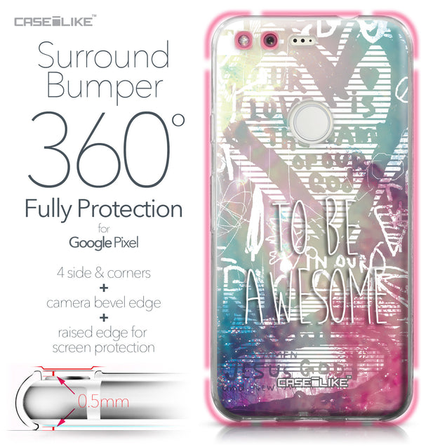 Google Pixel case Graffiti 2726 Bumper Case Protection | CASEiLIKE.com