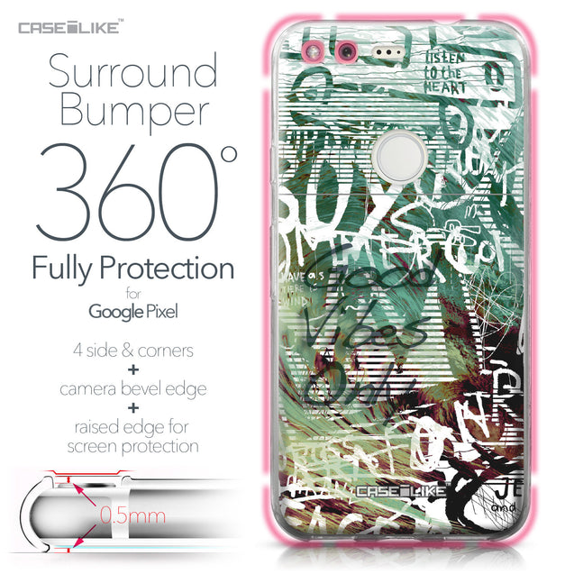 Google Pixel case Graffiti 2728 Bumper Case Protection | CASEiLIKE.com