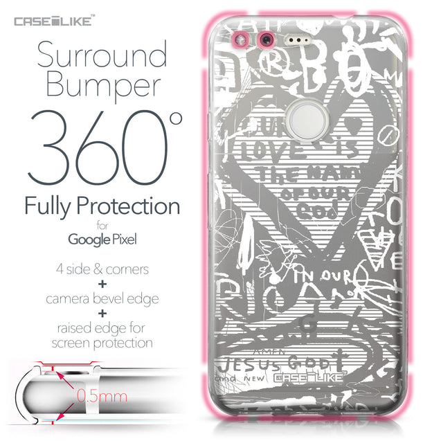 Google Pixel case Graffiti 2730 Bumper Case Protection | CASEiLIKE.com