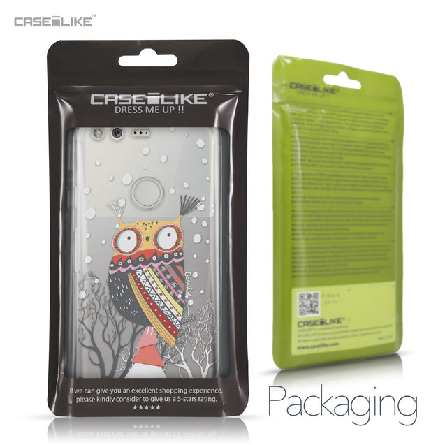 Google Pixel case Owl Graphic Design 3317 Retail Packaging | CASEiLIKE.com