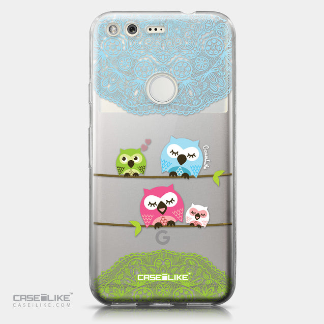 Google Pixel case Owl Graphic Design 3318 | CASEiLIKE.com