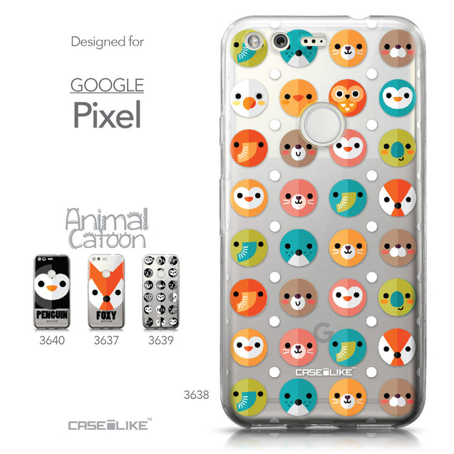 Google Pixel case Animal Cartoon 3638 Collection | CASEiLIKE.com
