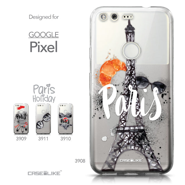 Google Pixel case Paris Holiday 3908 Collection | CASEiLIKE.com