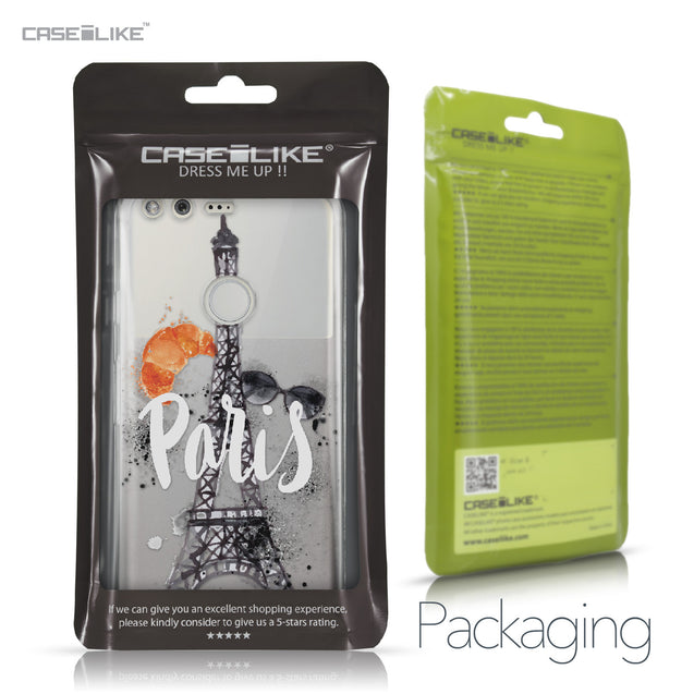 Google Pixel case Paris Holiday 3908 Retail Packaging | CASEiLIKE.com