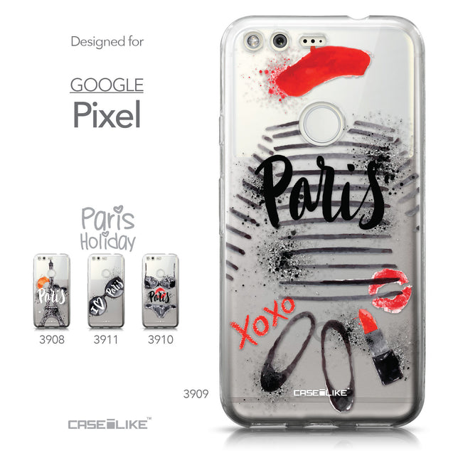 Google Pixel case Paris Holiday 3909 Collection | CASEiLIKE.com