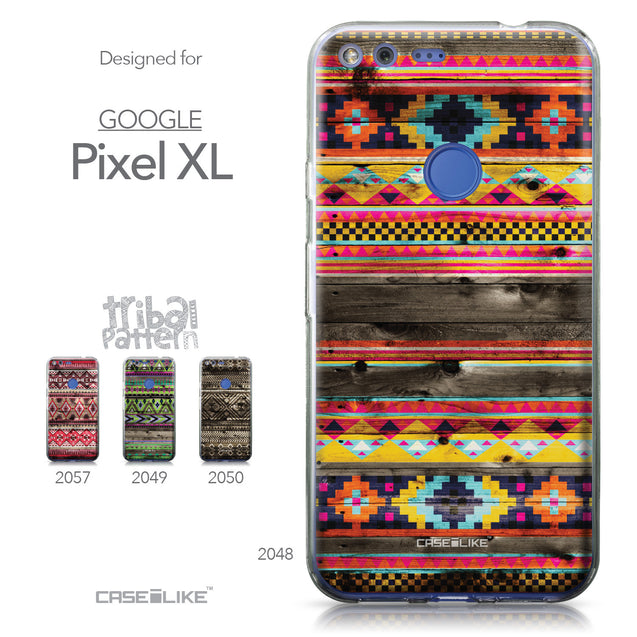 Google Pixel XL case Indian Tribal Theme Pattern 2048 Collection | CASEiLIKE.com