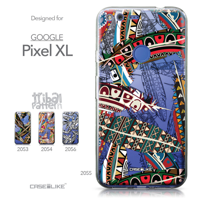 Google Pixel XL case Indian Tribal Theme Pattern 2055 Collection | CASEiLIKE.com