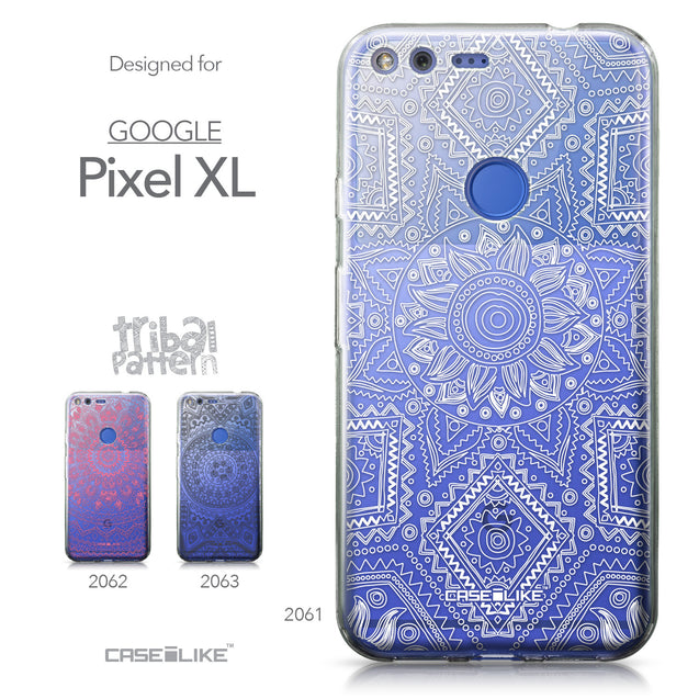 Google Pixel XL case Indian Line Art 2061 Collection | CASEiLIKE.com