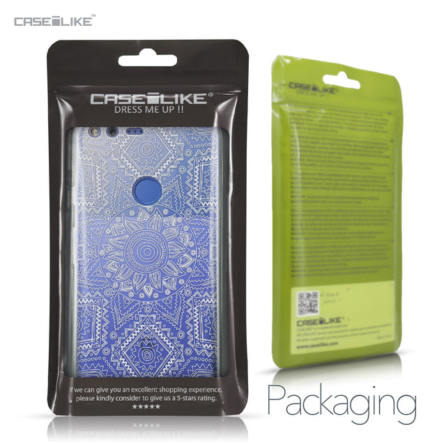 Google Pixel XL case Indian Line Art 2061 Retail Packaging | CASEiLIKE.com