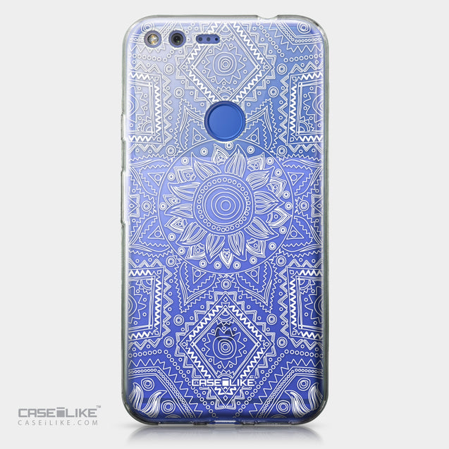 Google Pixel XL case Indian Line Art 2061 | CASEiLIKE.com