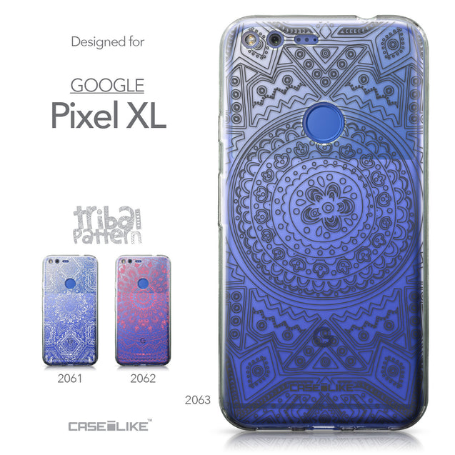 Google Pixel XL case Indian Line Art 2063 Collection | CASEiLIKE.com