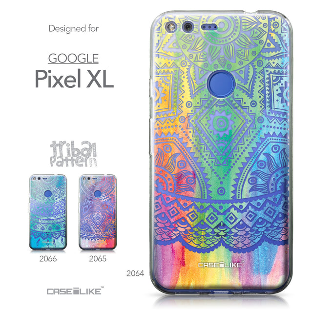Google Pixel XL case Indian Line Art 2064 Collection | CASEiLIKE.com