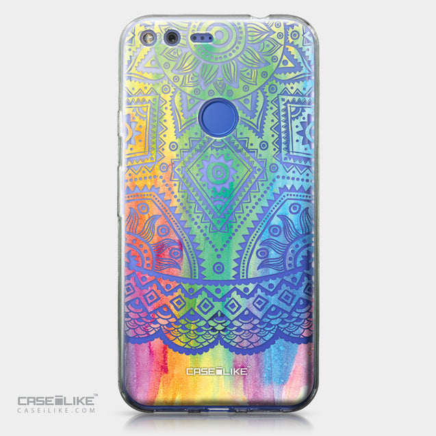 Google Pixel XL case Indian Line Art 2064 | CASEiLIKE.com