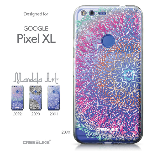 Google Pixel XL case Mandala Art 2090 Collection | CASEiLIKE.com
