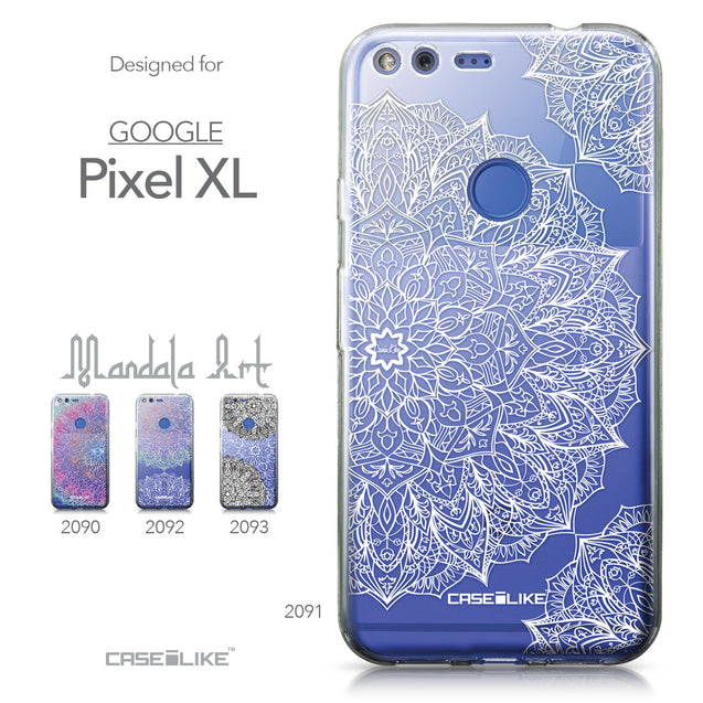 Google Pixel XL case Mandala Art 2091 Collection | CASEiLIKE.com