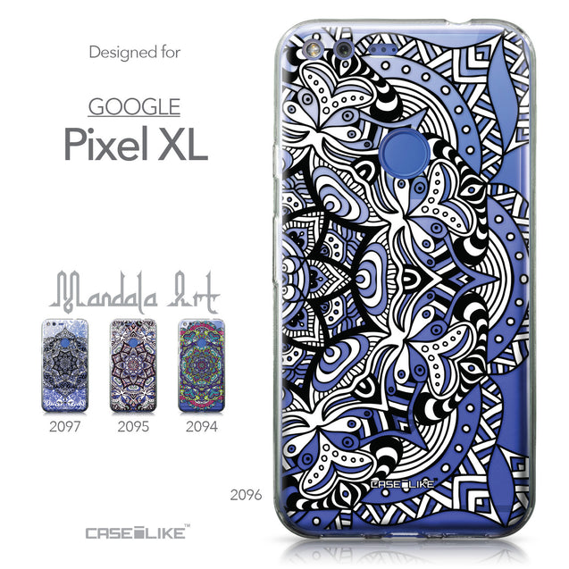 Google Pixel XL case Mandala Art 2096 Collection | CASEiLIKE.com
