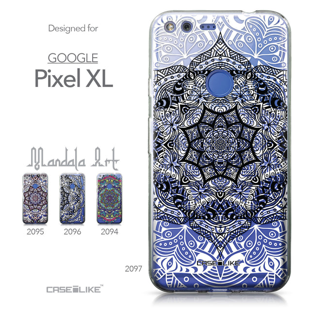 Google Pixel XL case Mandala Art 2097 Collection | CASEiLIKE.com