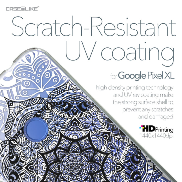 Google Pixel XL case Mandala Art 2097 with UV-Coating Scratch-Resistant Case | CASEiLIKE.com