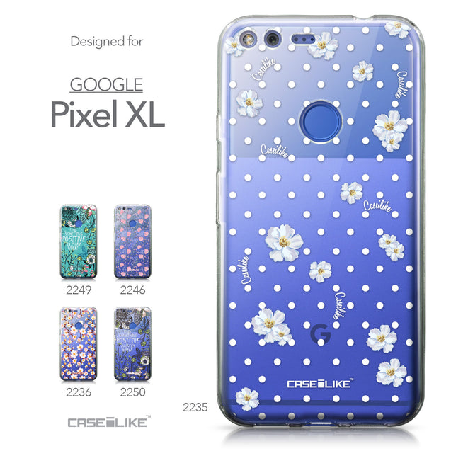 Google Pixel XL case Watercolor Floral 2235 Collection | CASEiLIKE.com