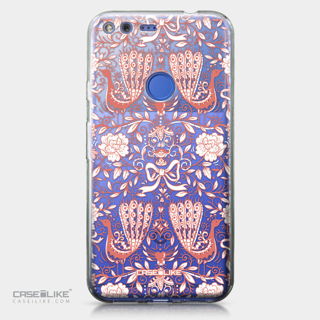 Google Pixel XL case Roses Ornamental Skulls Peacocks 2237 | CASEiLIKE.com