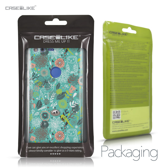 Google Pixel XL case Spring Forest Turquoise 2245 Retail Packaging | CASEiLIKE.com