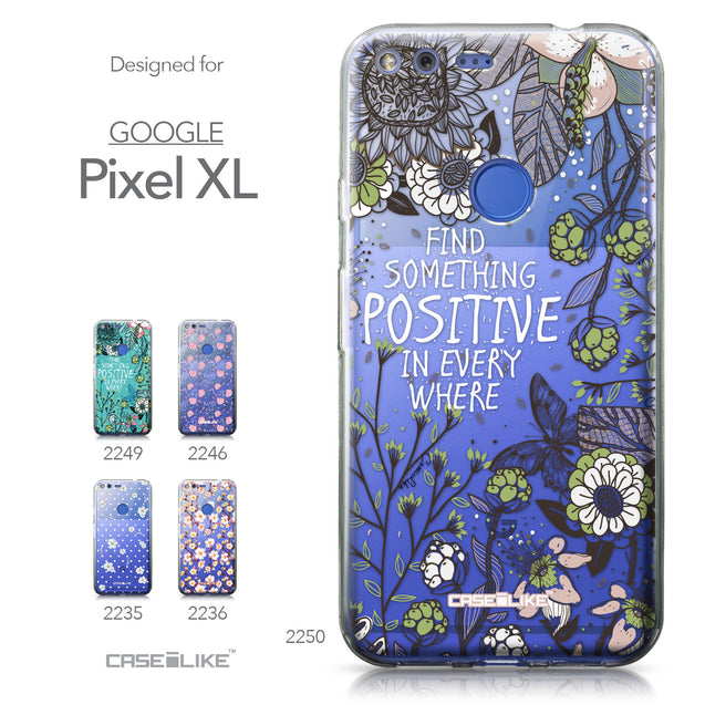 Google Pixel XL case Blooming Flowers 2250 Collection | CASEiLIKE.com