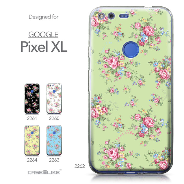 Google Pixel XL case Floral Rose Classic 2262 Collection | CASEiLIKE.com