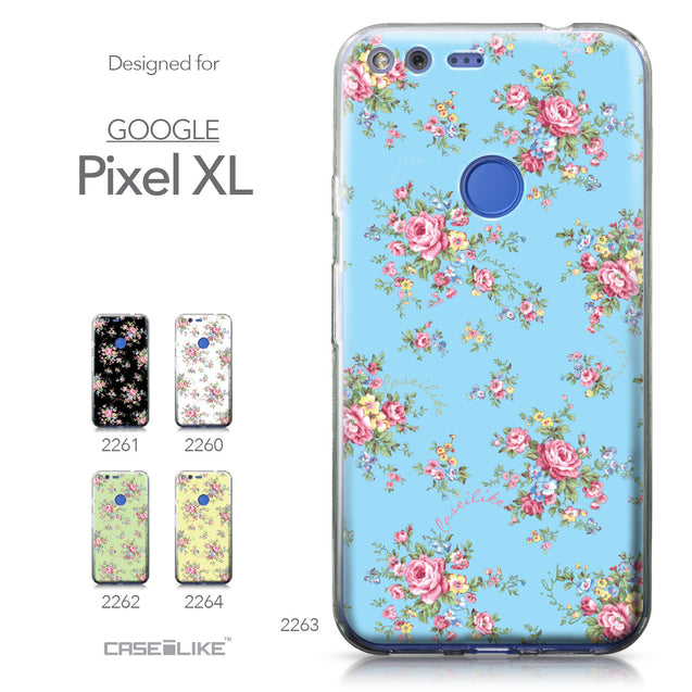 Google Pixel XL case Floral Rose Classic 2263 Collection | CASEiLIKE.com
