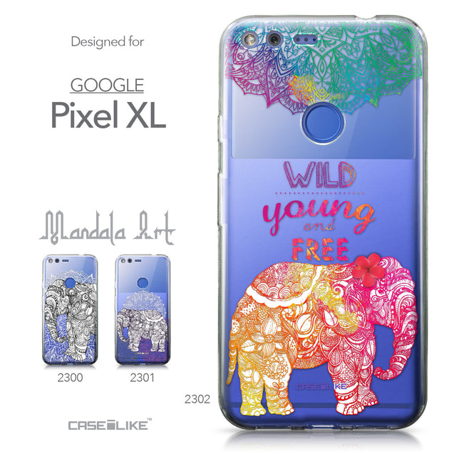 Google Pixel XL case Mandala Art 2302 Collection | CASEiLIKE.com