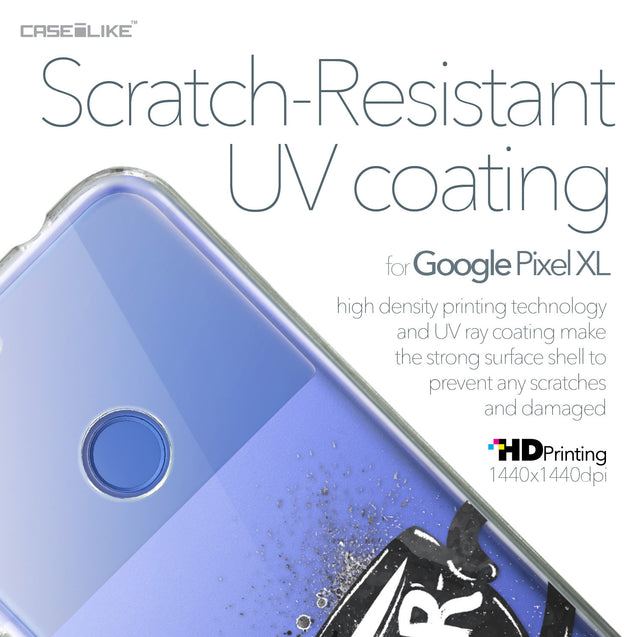 Google Pixel XL case Quote 2402 with UV-Coating Scratch-Resistant Case | CASEiLIKE.com