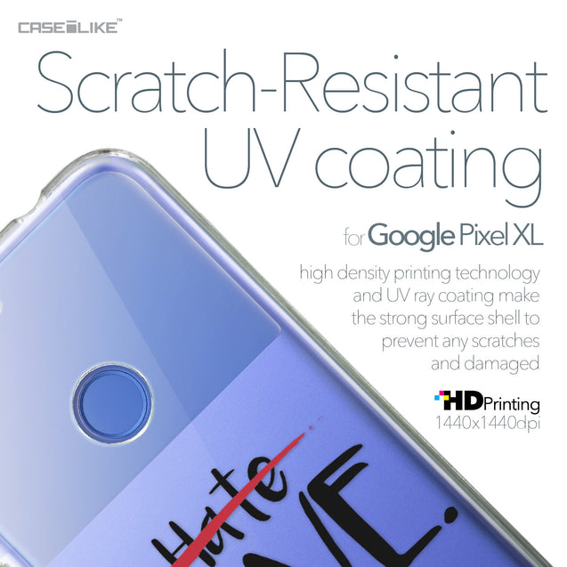 Google Pixel XL case Quote 2406 with UV-Coating Scratch-Resistant Case | CASEiLIKE.com
