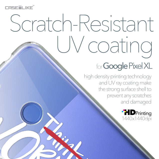 Google Pixel XL case Quote 2411 with UV-Coating Scratch-Resistant Case | CASEiLIKE.com