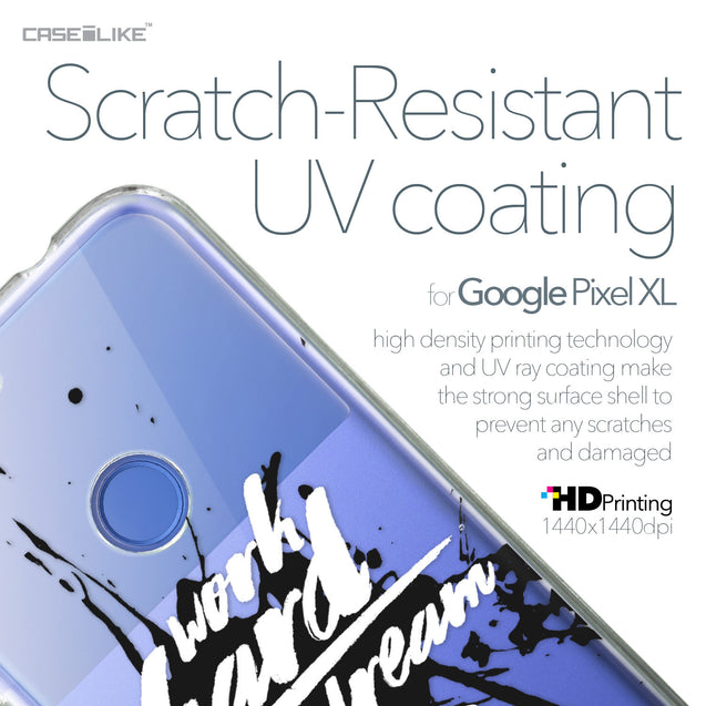 Google Pixel XL case Quote 2414 with UV-Coating Scratch-Resistant Case | CASEiLIKE.com