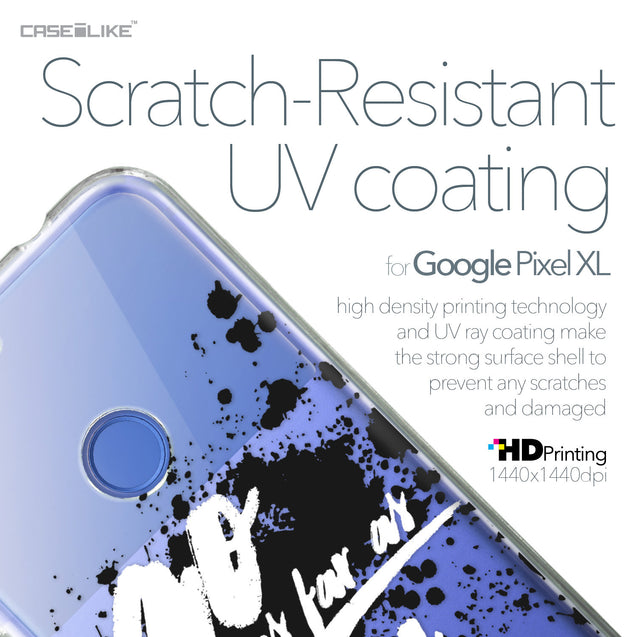 Google Pixel XL case Quote 2415 with UV-Coating Scratch-Resistant Case | CASEiLIKE.com