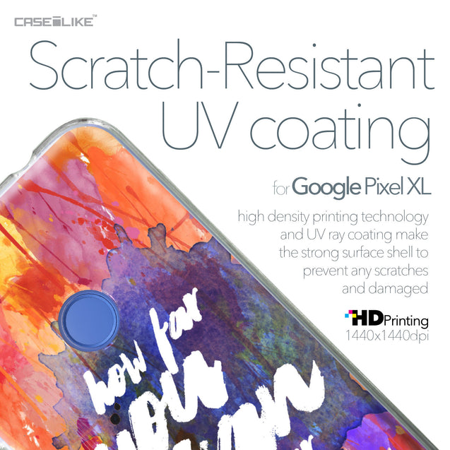 Google Pixel XL case Quote 2421 with UV-Coating Scratch-Resistant Case | CASEiLIKE.com